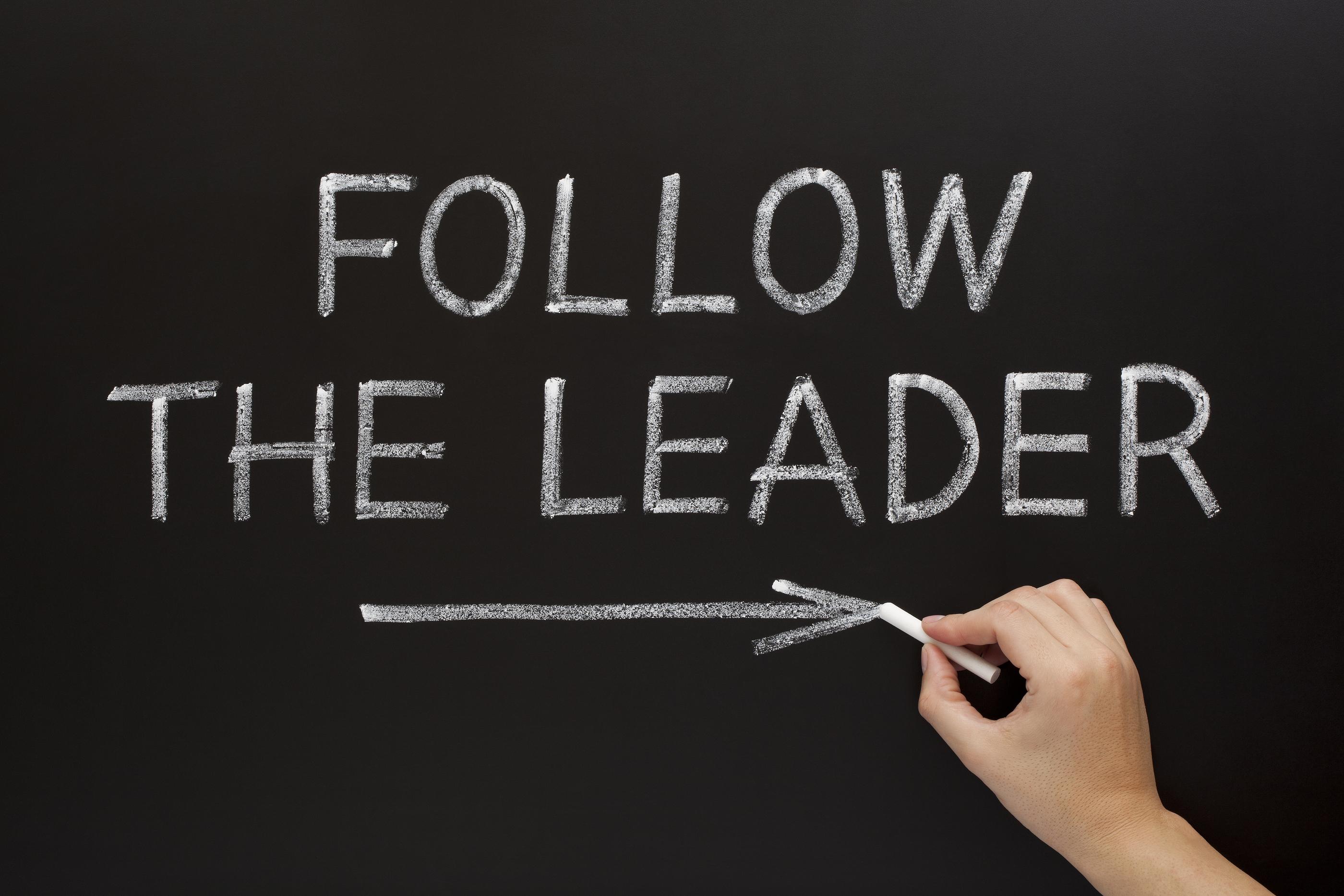 follow the leaders on blackboard